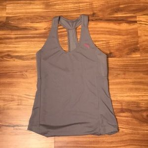 Grey PUMA workout tank